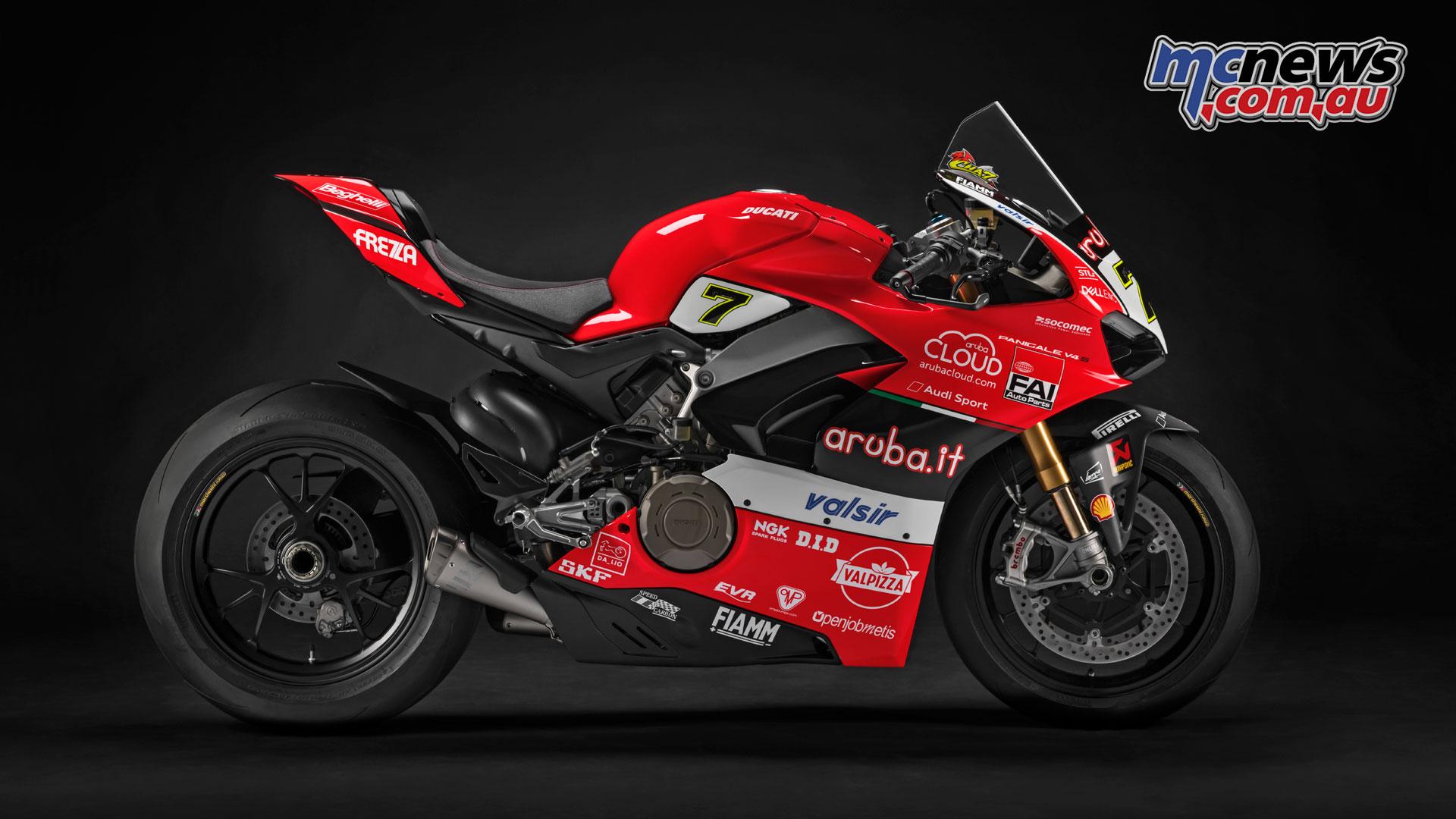 Alvaro Bautista on Aruba Ducati Panigale V4 for WSBK 2019 | MCNews.com.au