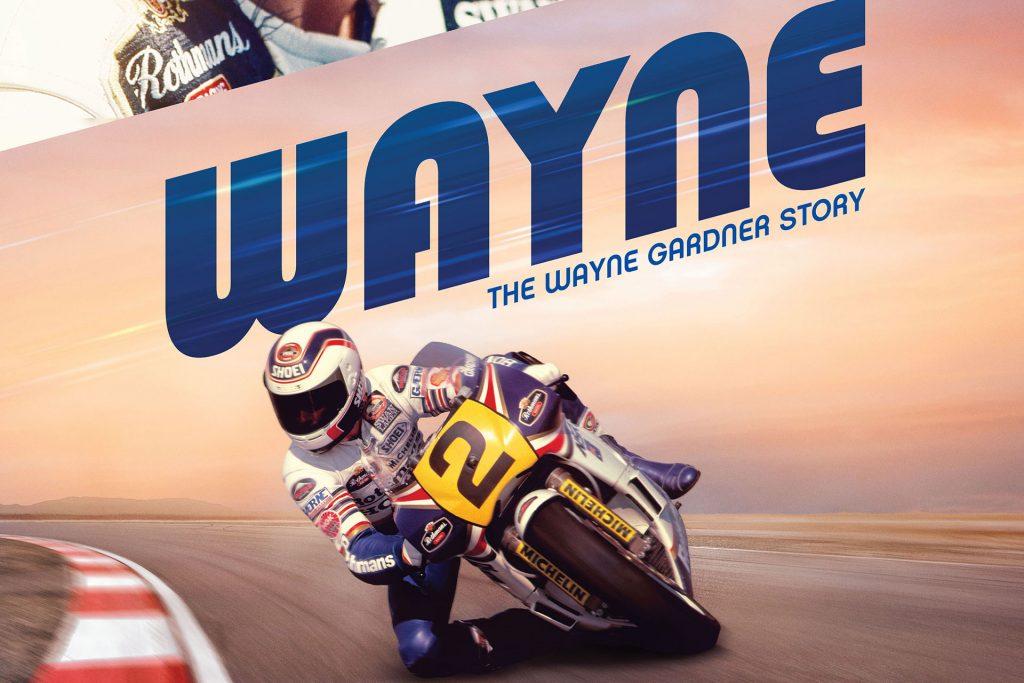 Wayne Gardner Documentary Poster