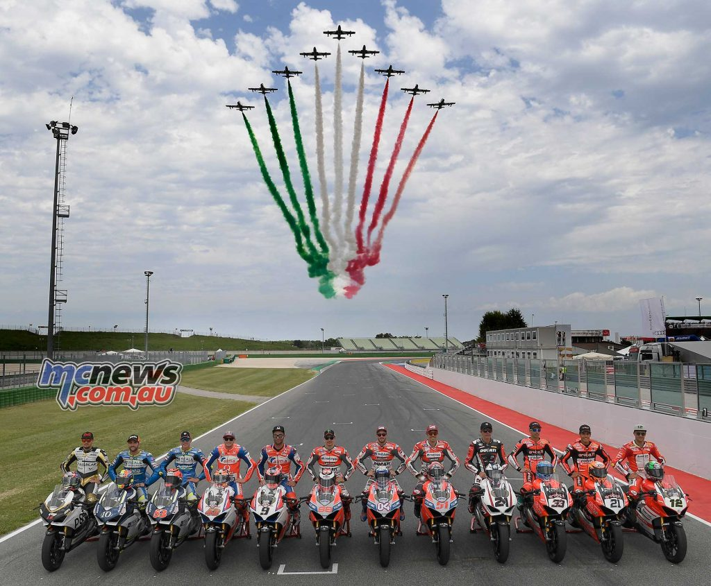 World Ducati Week Race Of Champions Flyover