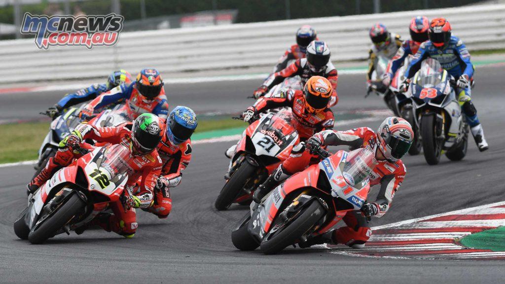 World Ducati Week Race Of Champions Pirro Fores Rinaldi