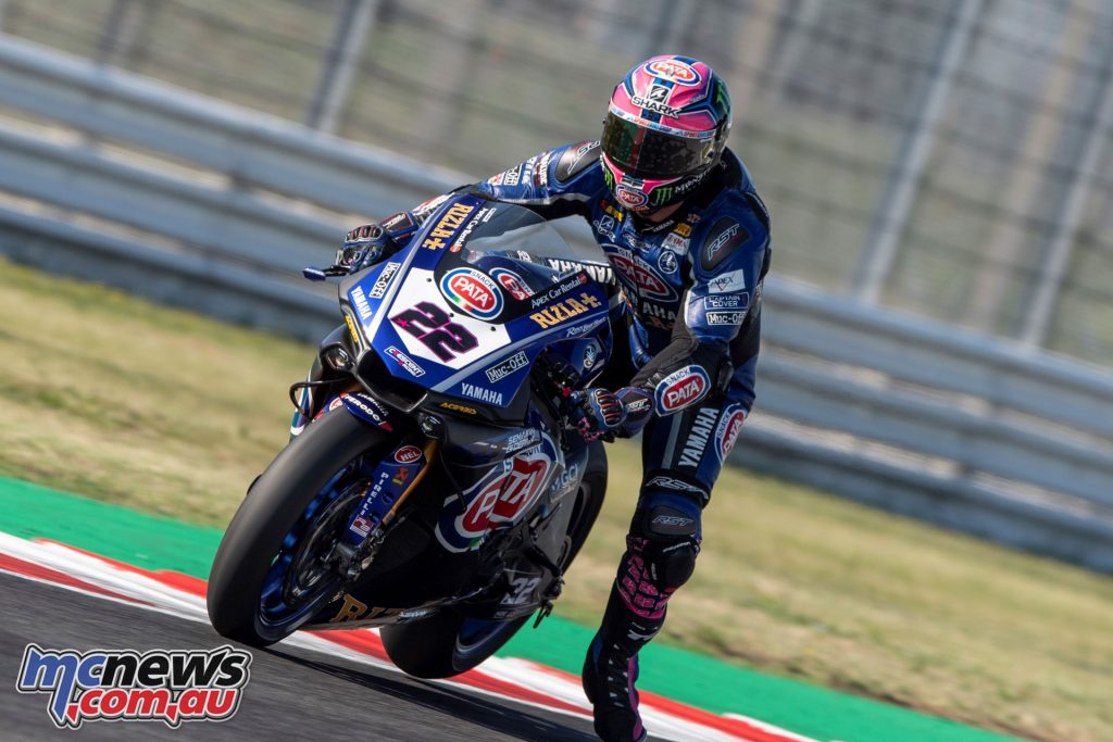 WorldSBK Rnd Misano Alex Lowes