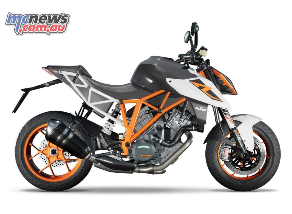KTM Duke 1290 Ride 3 Tock