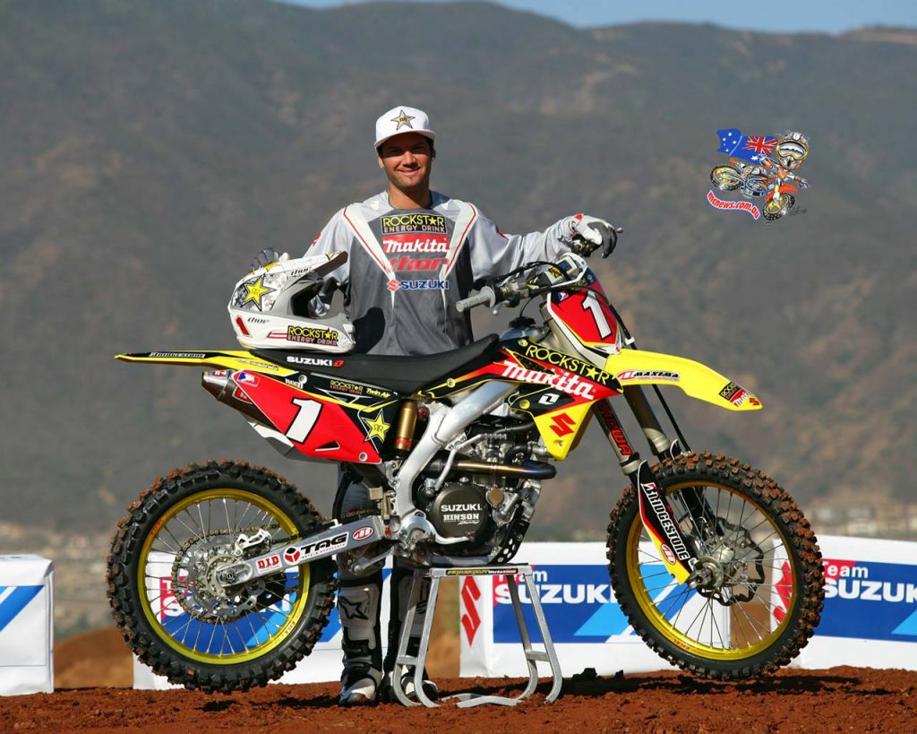 Chad Reed Suzuki Pose