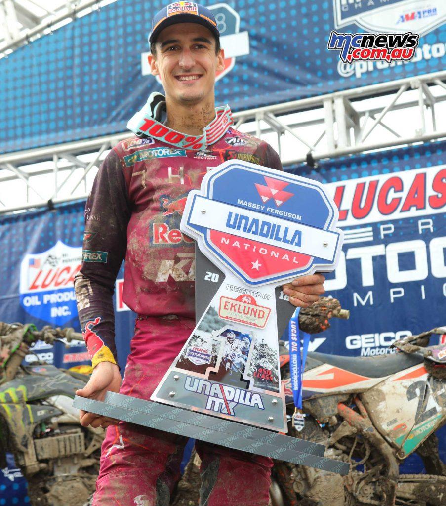 AMAMX Unadilla Musquin Trophy
