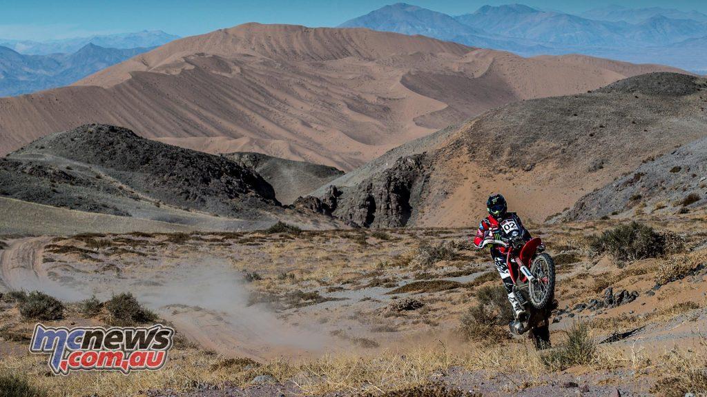 Atacama Rally Stage Kevin Benavides