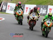 BSB CadwellPark Ben Currie with James Westmoreland and Kurt Wigley