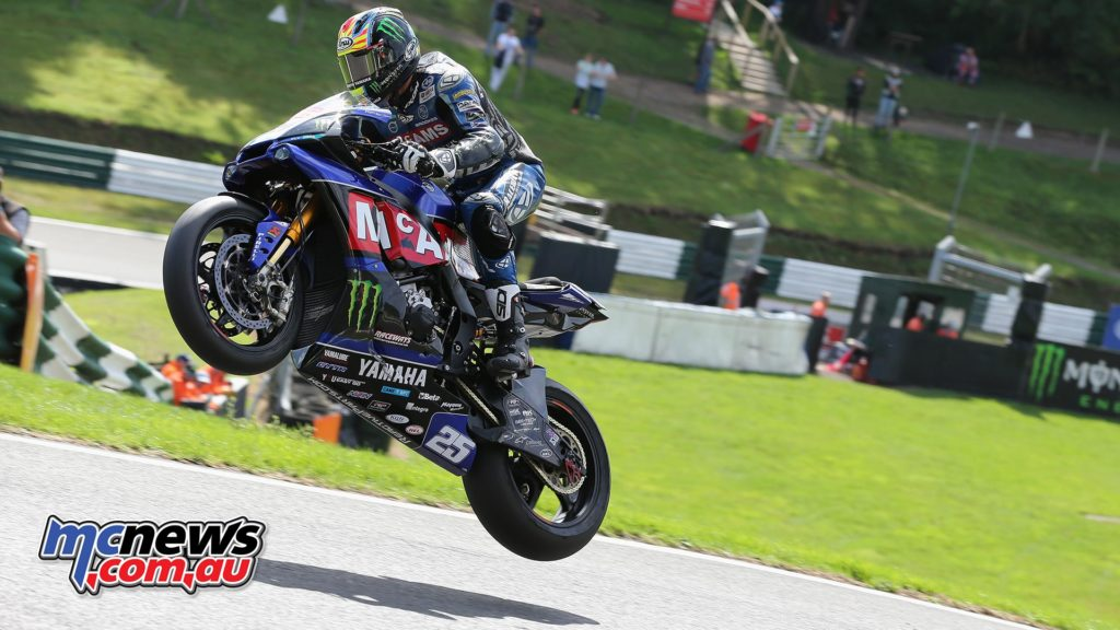 BSB CadwellPark Josh Brookes take off over the Mountain
