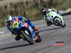 BSB Rnd Thruxton Billy McConnell in front Image DYeomans