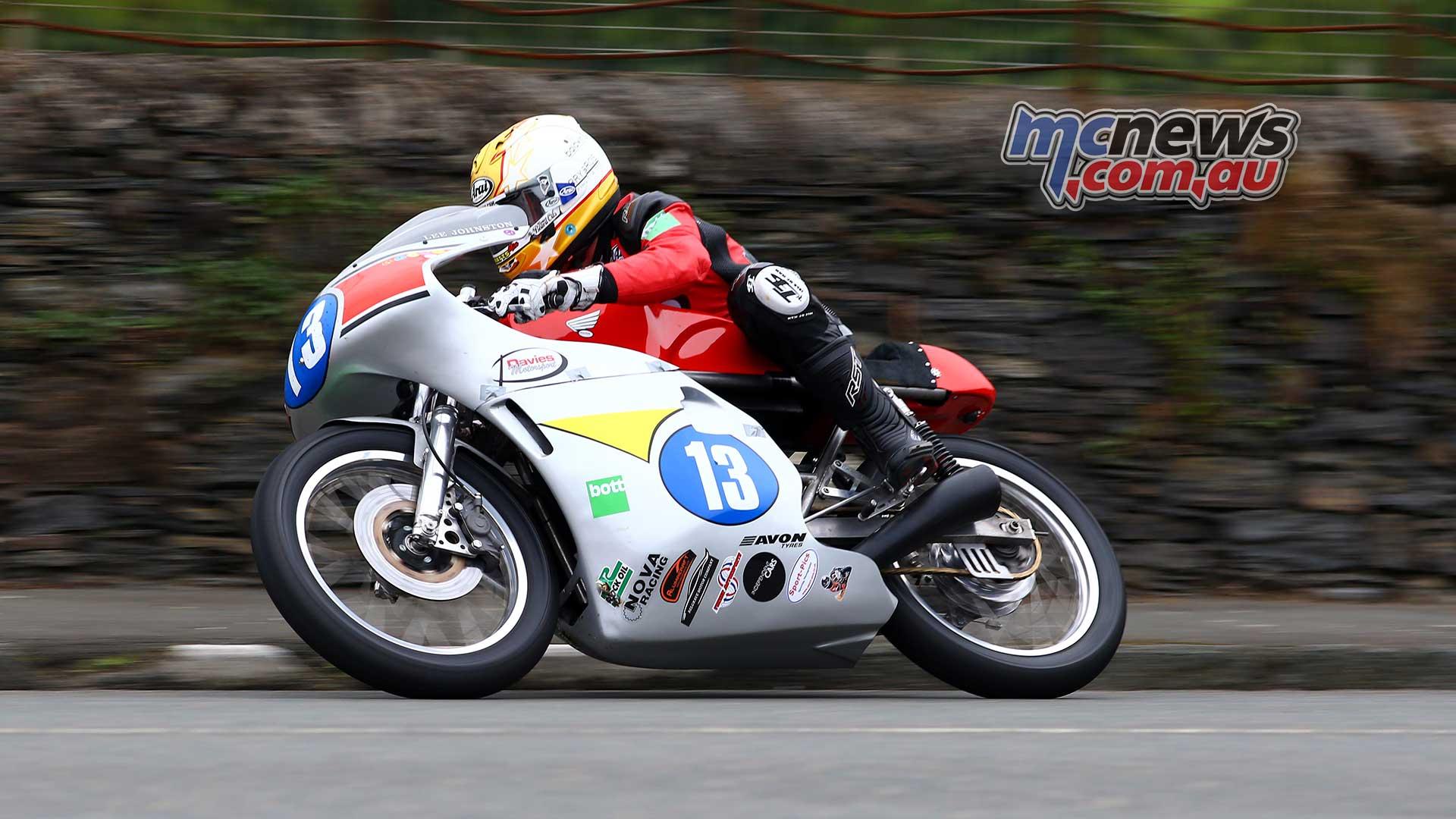 Classic TT Junior Lee Johnston