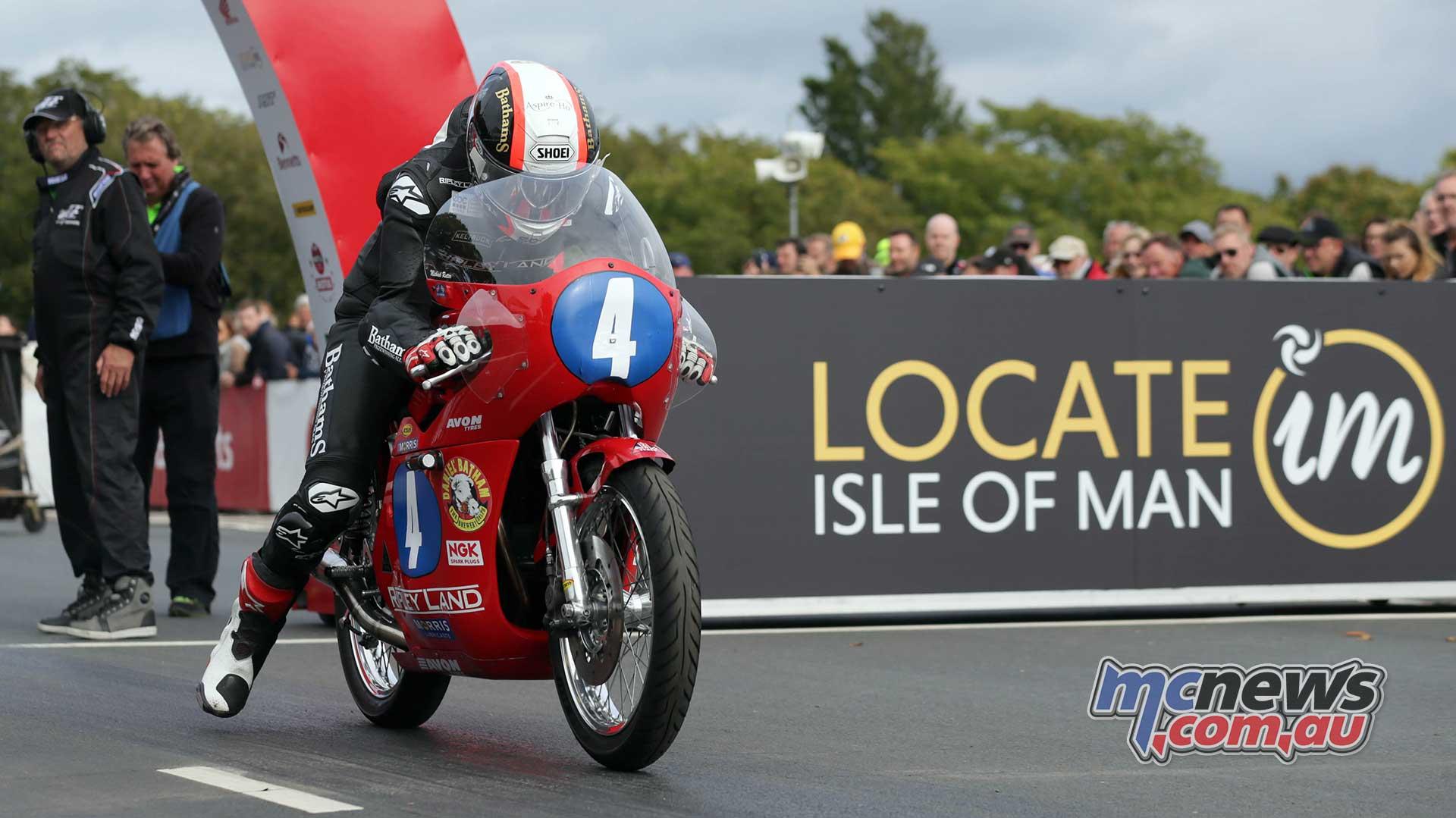 Classic TT Junior Michael Rutter
