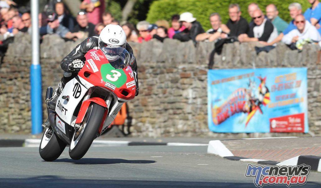 Classic TT Lightweight Adam McLean St Ninians TZ