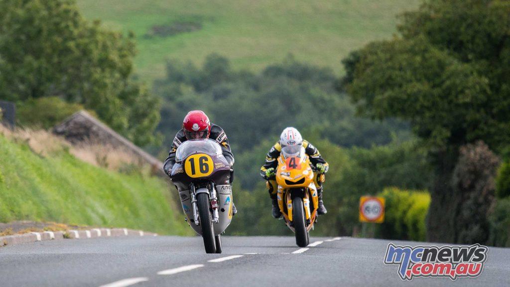 Classic TT Practice Chris Swalllow