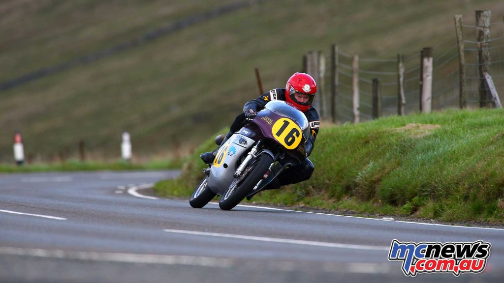 Classic TT Practice Chris Swallow Royal Enfield