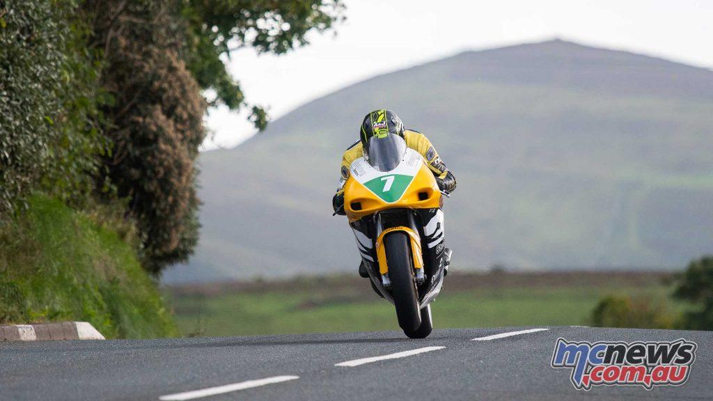 Classic TT Practice Dan Sayle