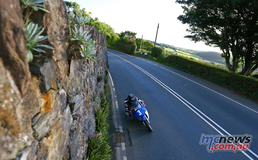 Classic TT Practice Fri James Coward