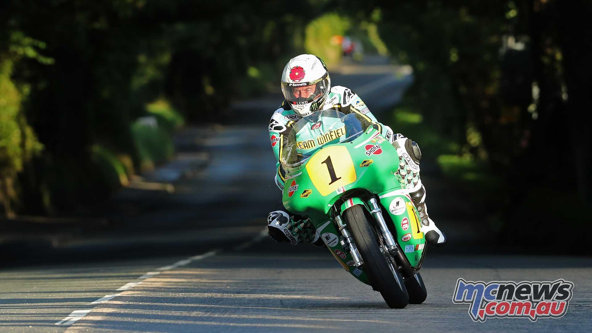 Classic TT Practice Fri John McGuinness