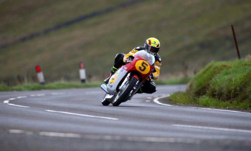 Classic TT Practice Ian Lougher MV Agusta