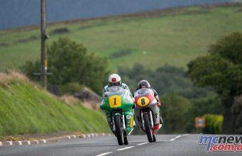 Classic TT Practice John McGuinness Alan Oversby