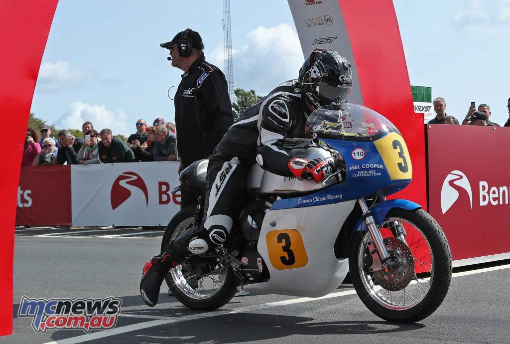 Classic TT Senior Jamie Coward Norton