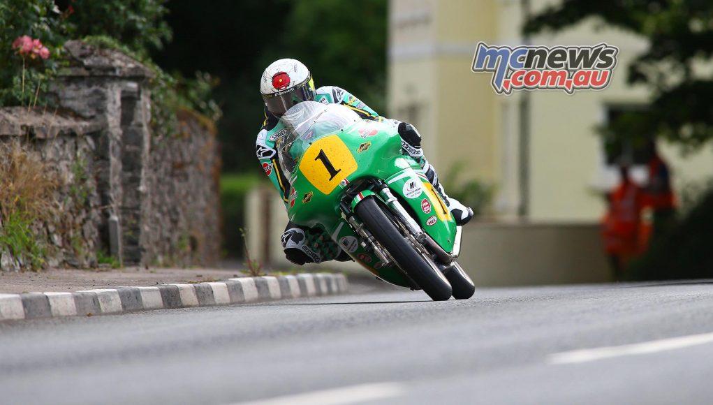 Classic TT Senior John McGuinness Practice
