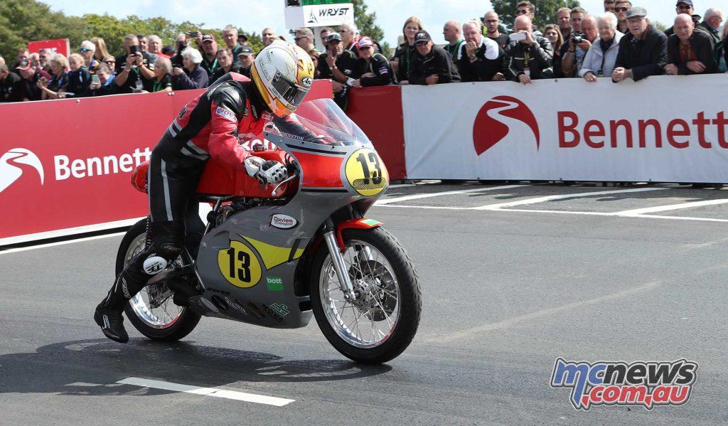 Classic TT Senior Lee Johnston Honda