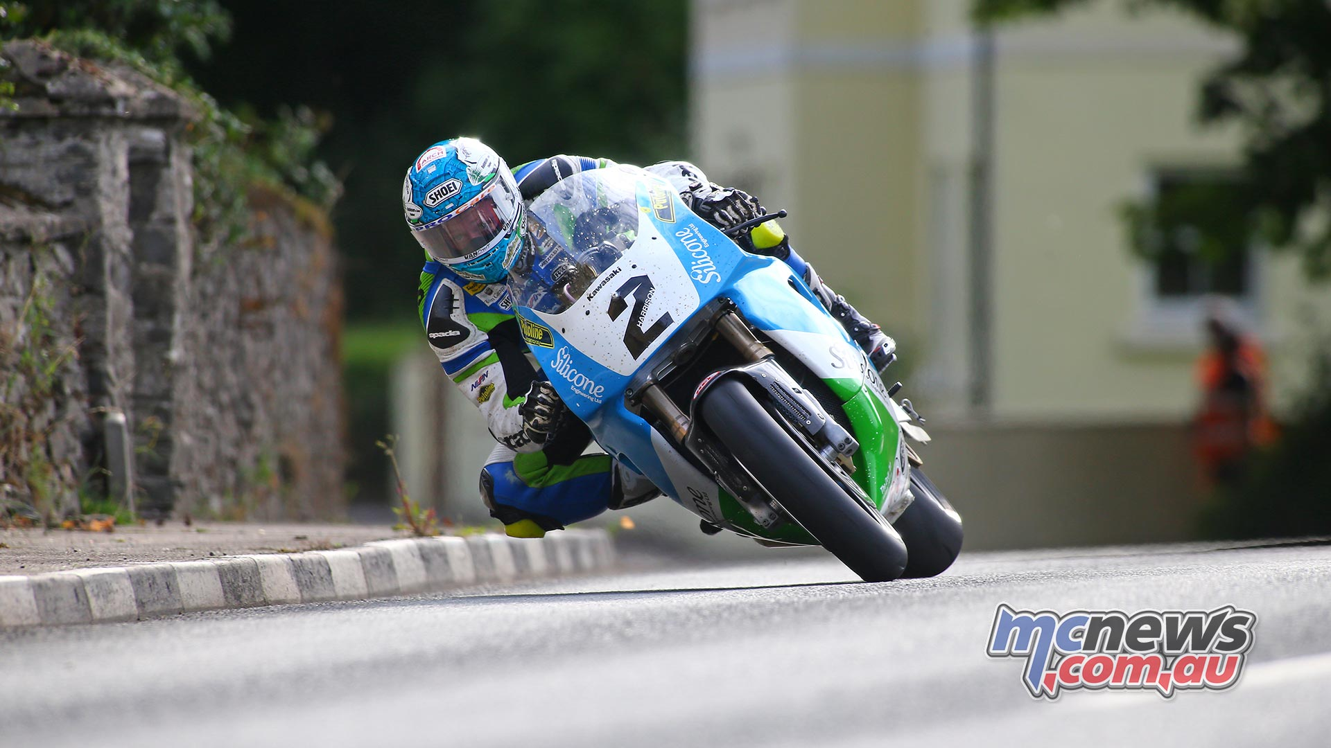 Classic TT Superbike Dean Harrison Practice