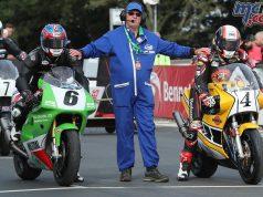 Classic TT Superbike Paul Jordan Michael Rutter Practice