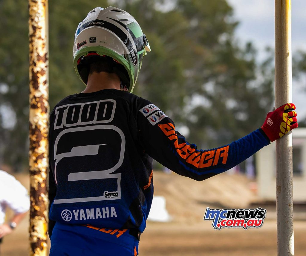 MX Nationals Rnd Gladstone moto mx todd gate pick