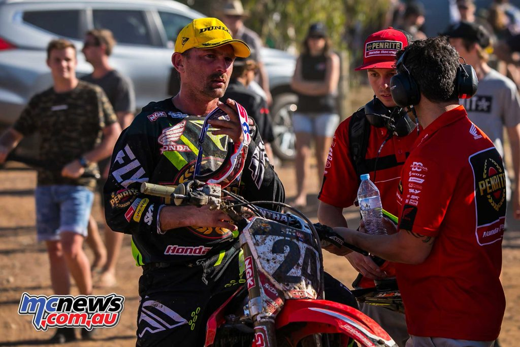 MX Nationals Rnd Gladstone moto mx metcalfe honda