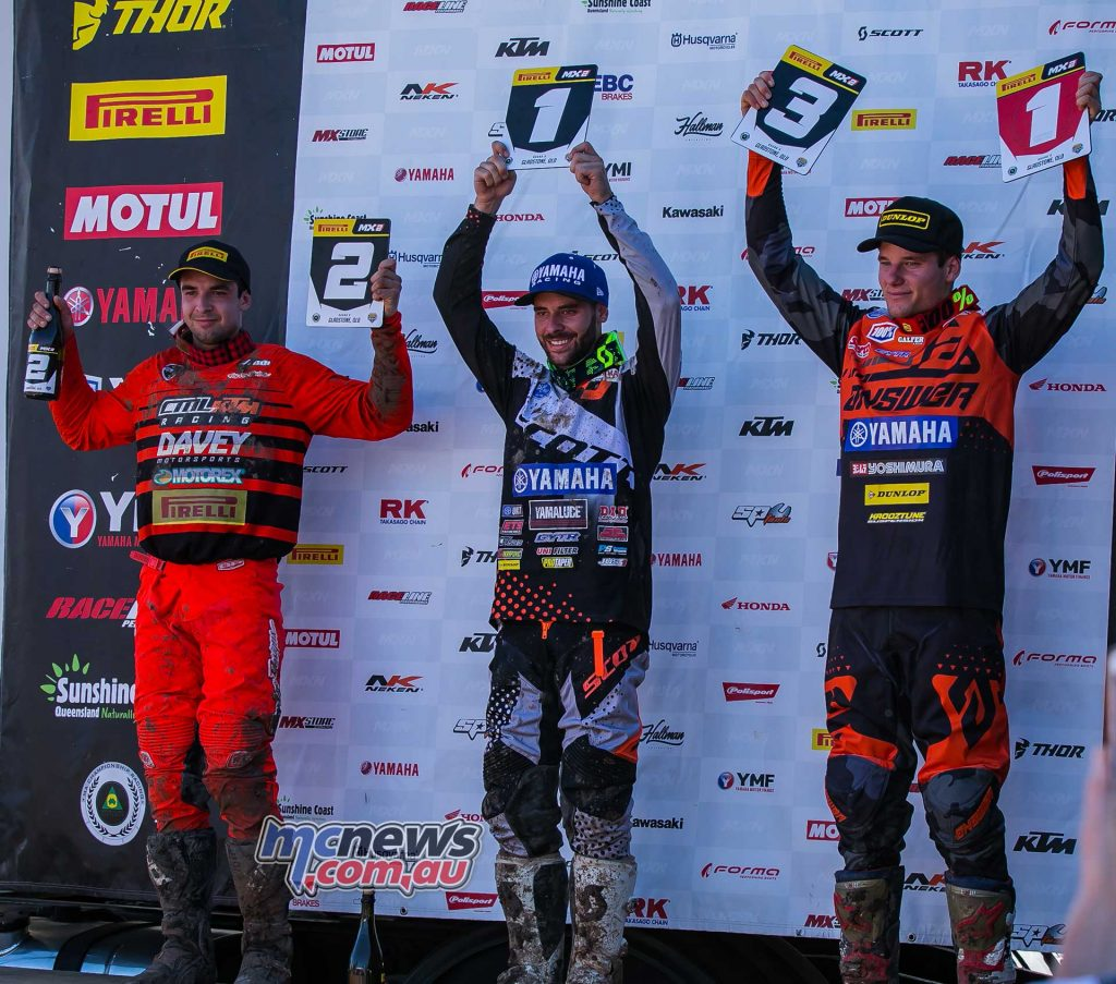 MX Nationals Rnd Gladstone moto mx Wilson Harwood Todd