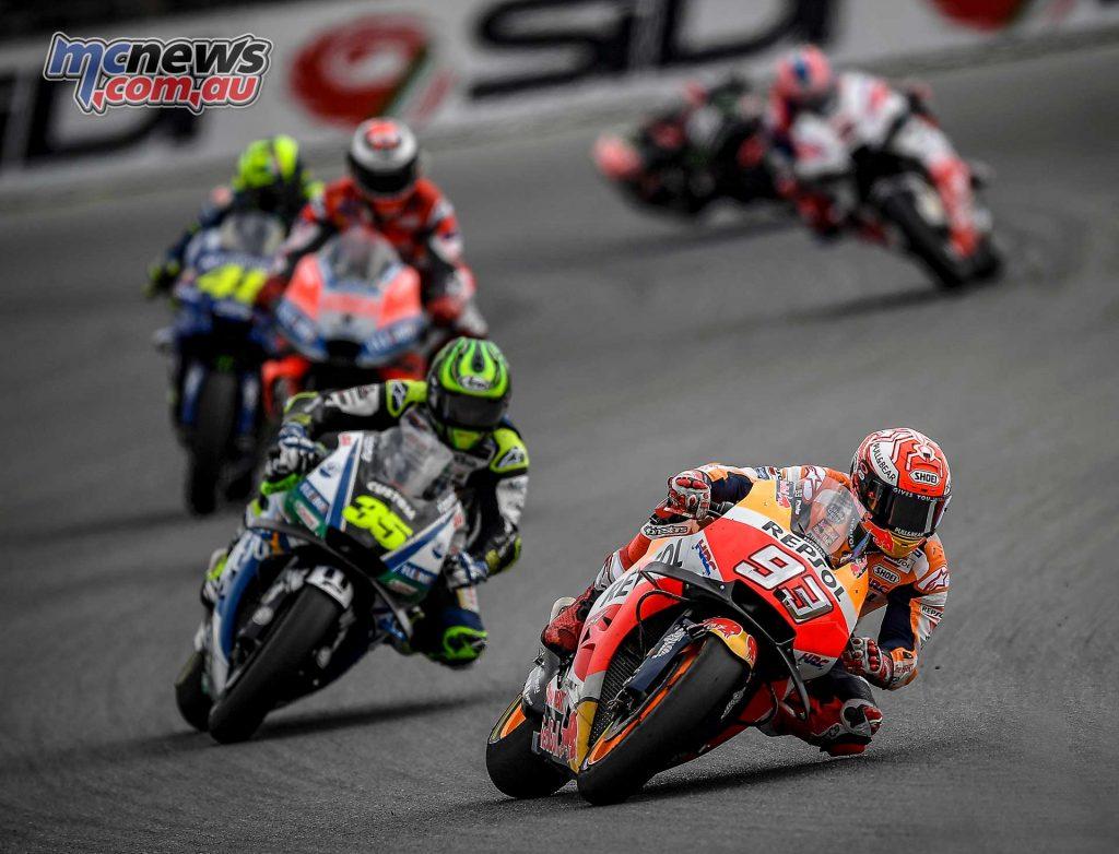 MotoGP Brno Rnd Marquez Crutchlow Lorenzo Rossi