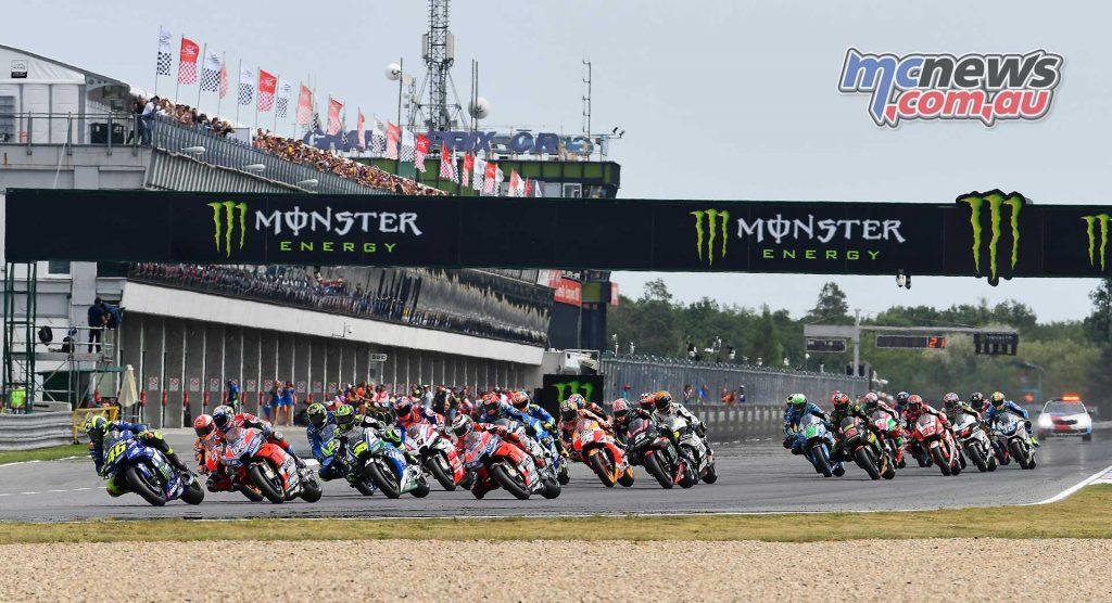 MotoGP Brno Rnd Michelin Start