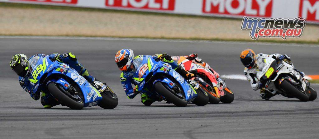 MotoGP Brno Rnd Michelin Iannone Rins