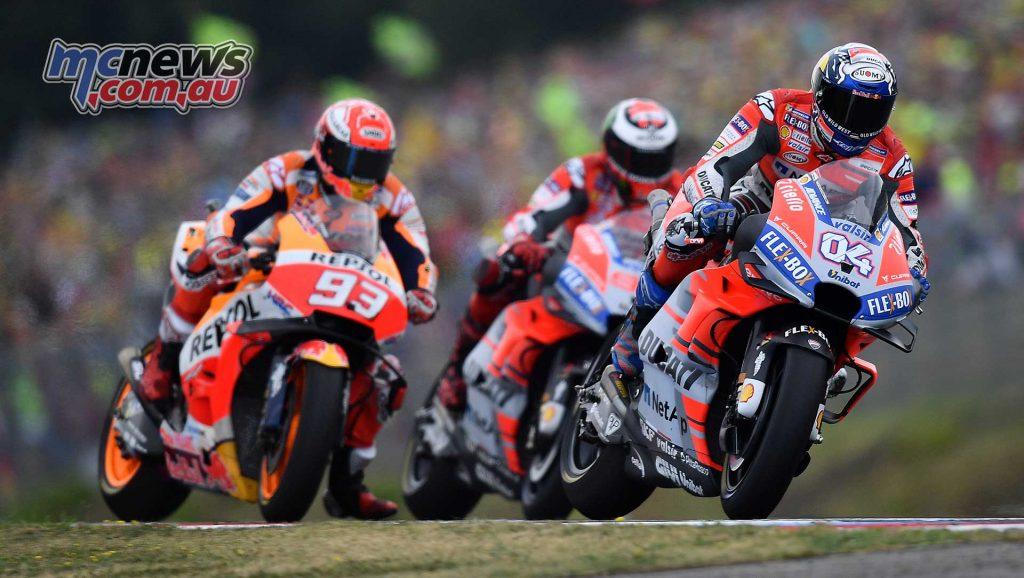 MotoGP Brno Rnd Michelin Dovi Marquez Lorenzo