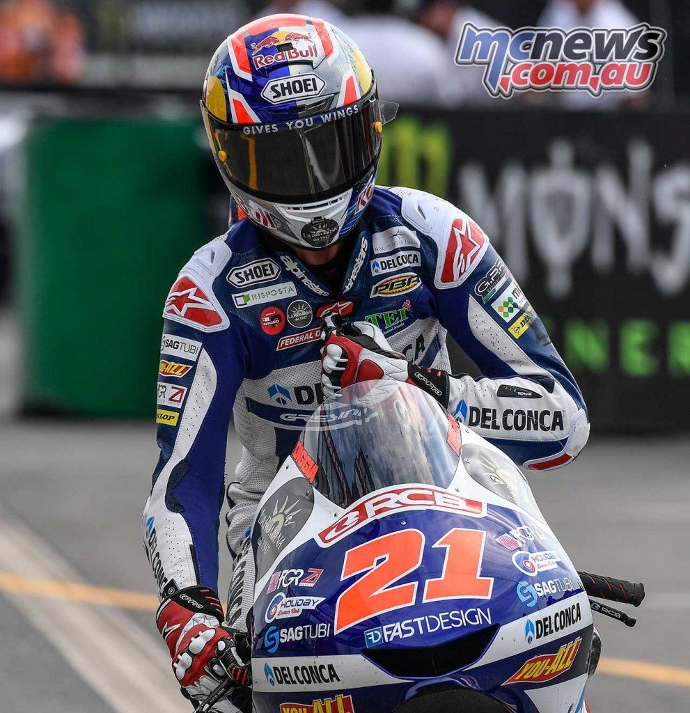 MotoGP Brno Rnd Moto Fabio Di Giannantonio