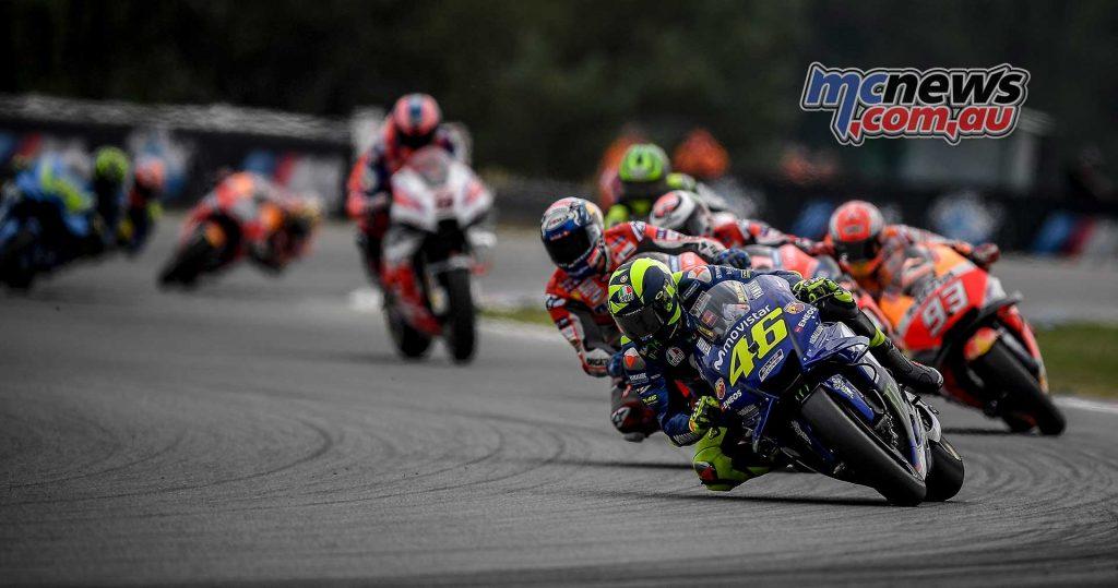 MotoGP Brno Rnd Rossi Dovizioso Lorenzo Marquez Crutchlow