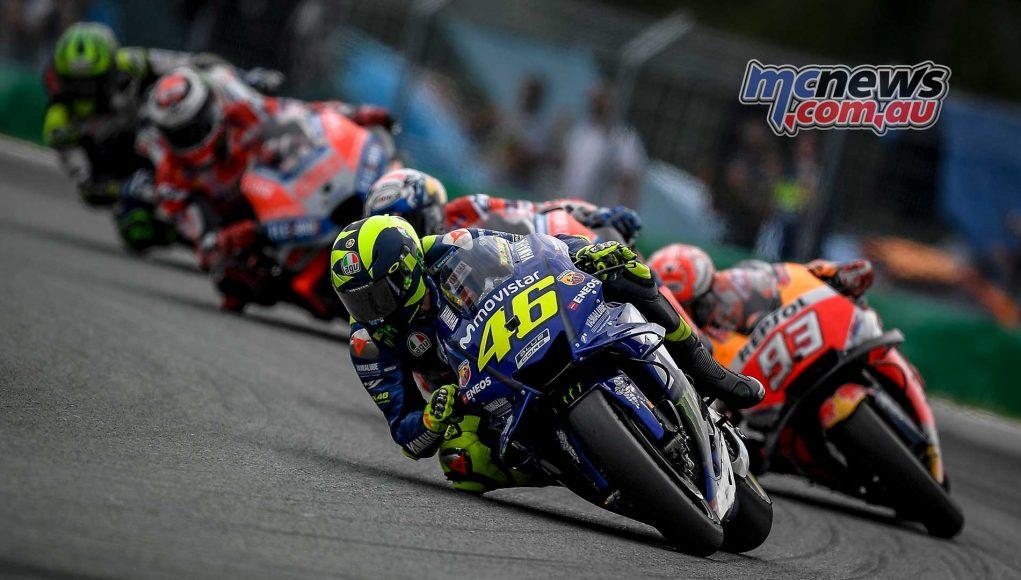 MotoGP Brno Rnd Rossi Marquez Pack
