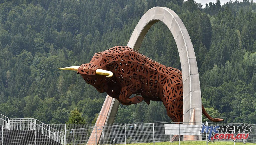 MotoGP Red Bull Ring Track
