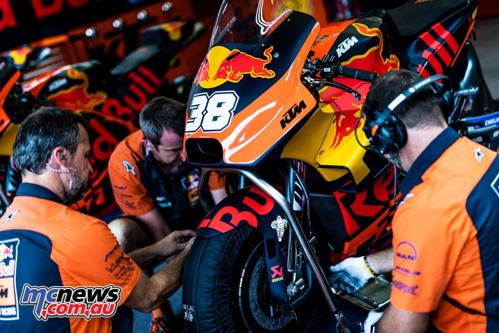MotoGP Rnd Austria QP Smith Mechanics