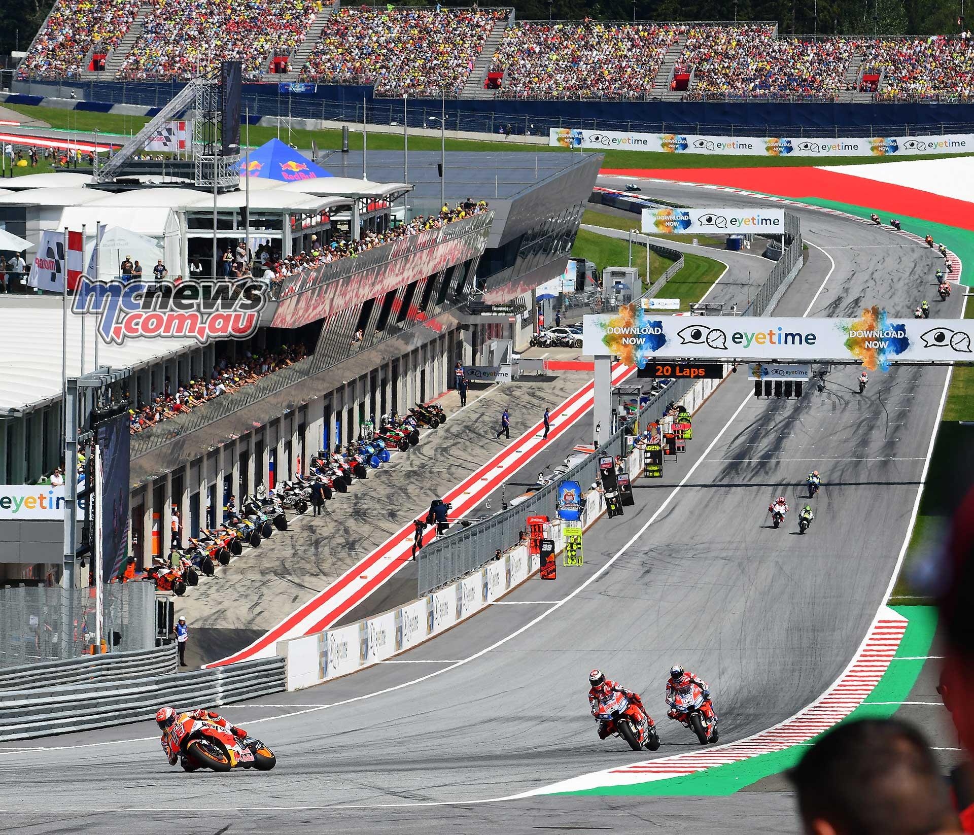 MotoGP Rnd Austria RaceMichelin Marquez