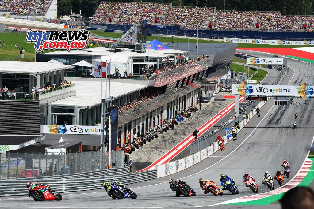 MotoGP Rnd Austria RaceMichelin Espargaro Rossi