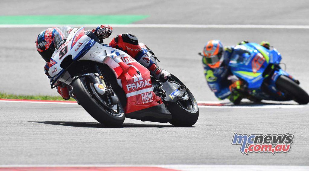 MotoGP Rnd Austria RaceMichelin Petrucci Rins