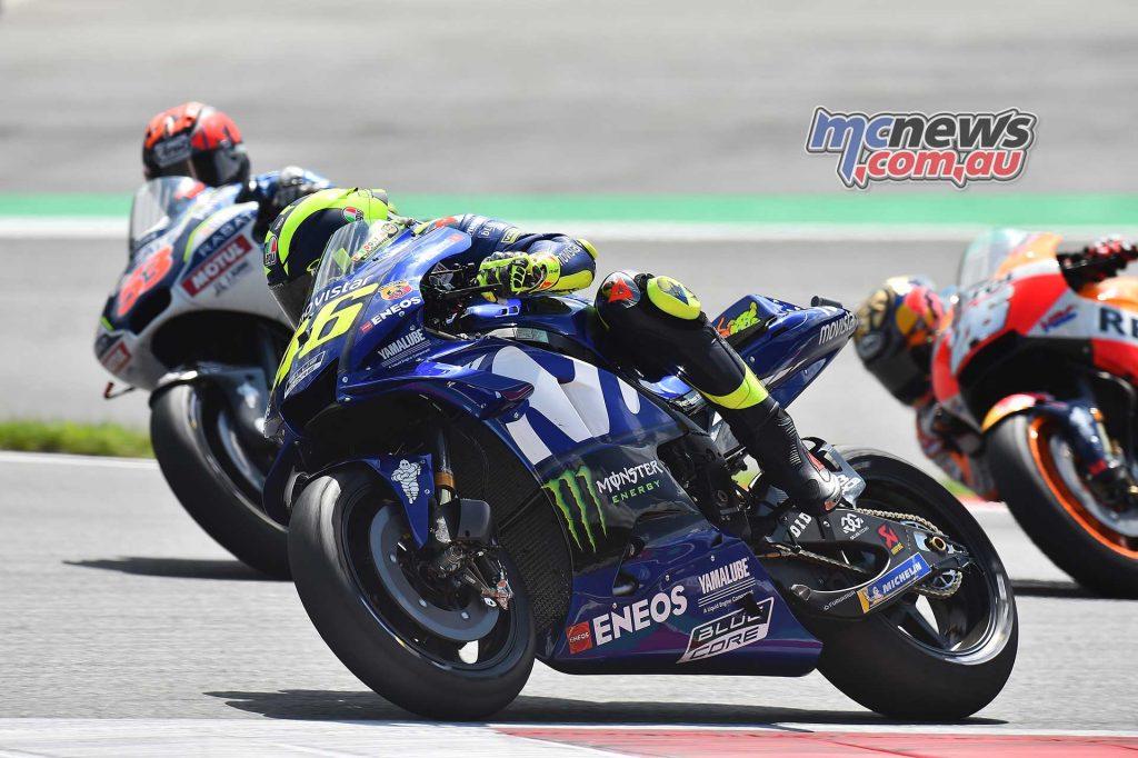MotoGP Rnd Austria RaceMichelin Rossi Rabat