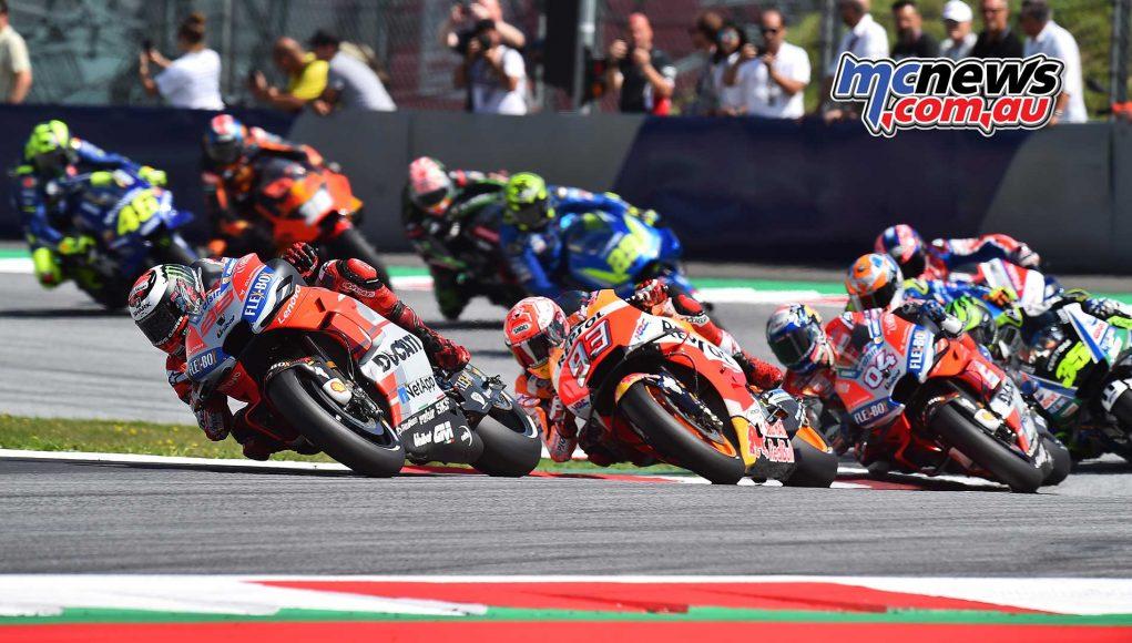 MotoGP Rnd Austria RaceMichelin Lorenzo