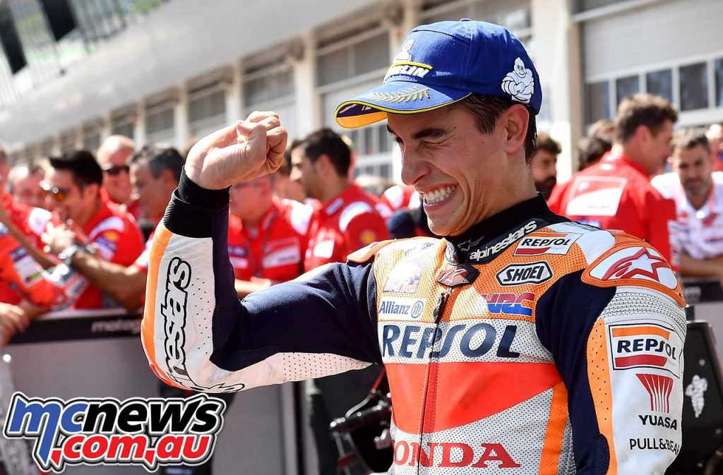 MotoGP Rnd Austria RaceMichelin Marquez Pin Throttle