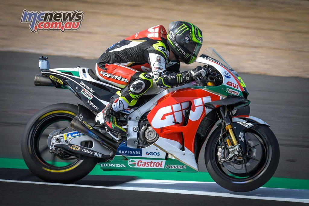MotoGP Silverstone Fri Crutchlow