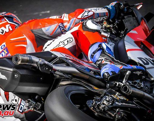 MotoGP Silverstone Fri Dovizioso