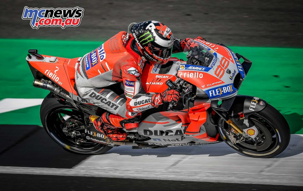 MotoGP Silverstone Fri Lorenzo