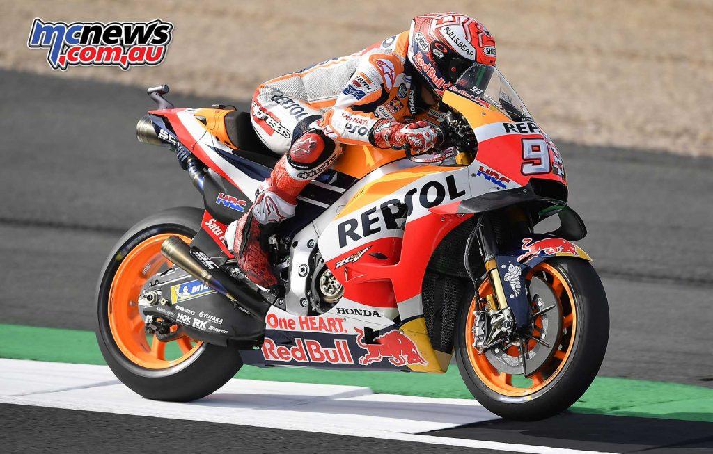 MotoGP Silverstone Fri Marc Marquez