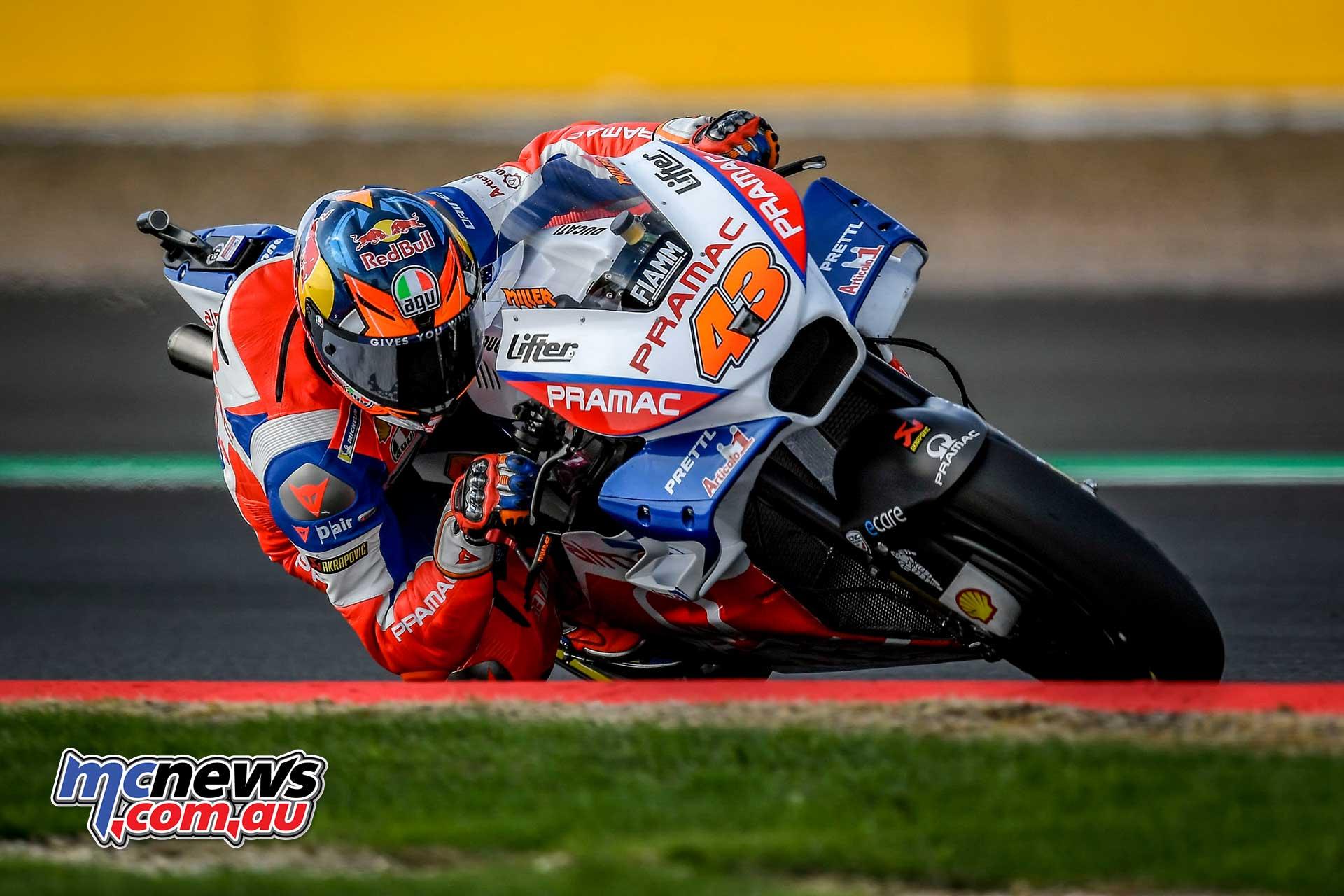 MotoGP Silverstone Fri Miller